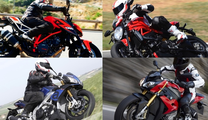 monster 1200 r face superduke 1290 r s1000r et tuono v4 1100