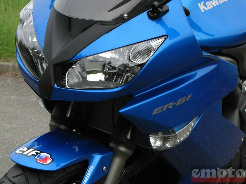 Photo de la Kawasaki ER6f ABS modèle 2009