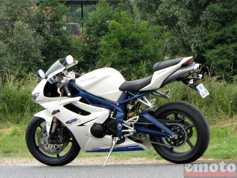 Photo de la Triumph Daytona 675 modèle 2009