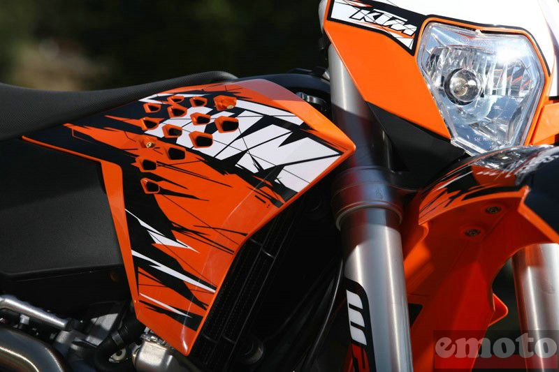 Photo de la KTM EXCF 250 modèle 2010