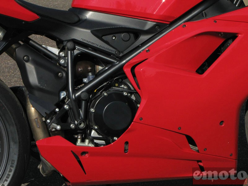 Photo de la Ducati 1198 modèle 2009