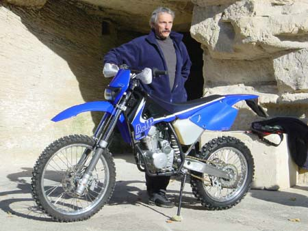 Photo de la AJP 125 PR4 Enduro modèle 2003
