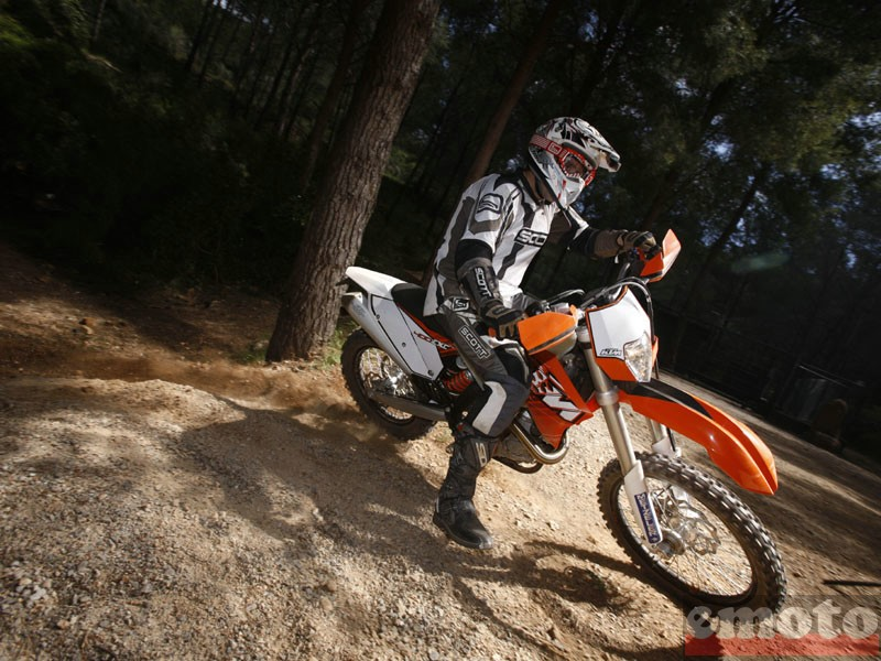 Photo de la KTM EXC 530 modèle 2011