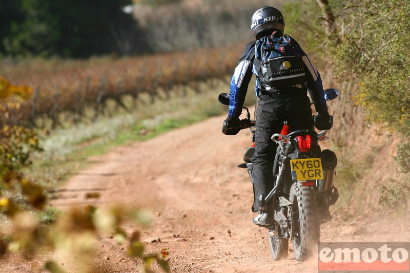 Photo de la Triumph Tiger 800 XC modèle 2011