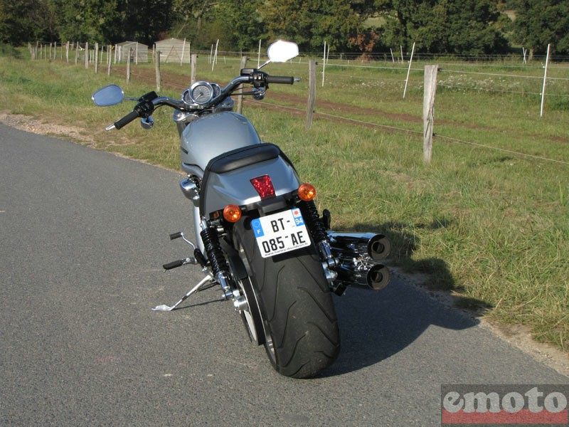 Photo de la Harley-Davidson V-Rod 1250 modèle 2012