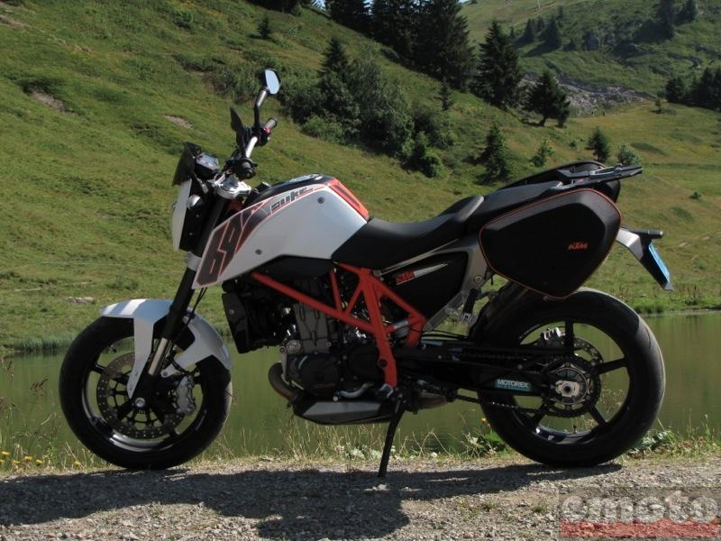 Photo de la KTM Duke 690 modèle 2012