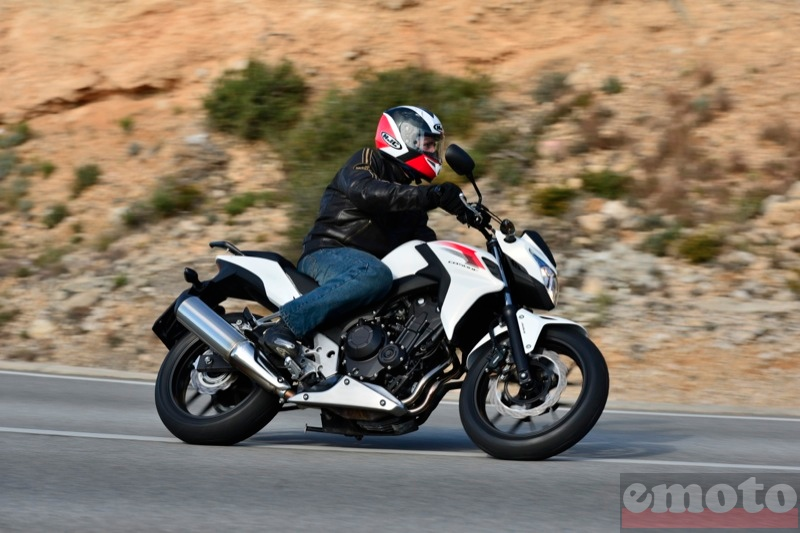Photo de la Honda CB500F modèle 2013