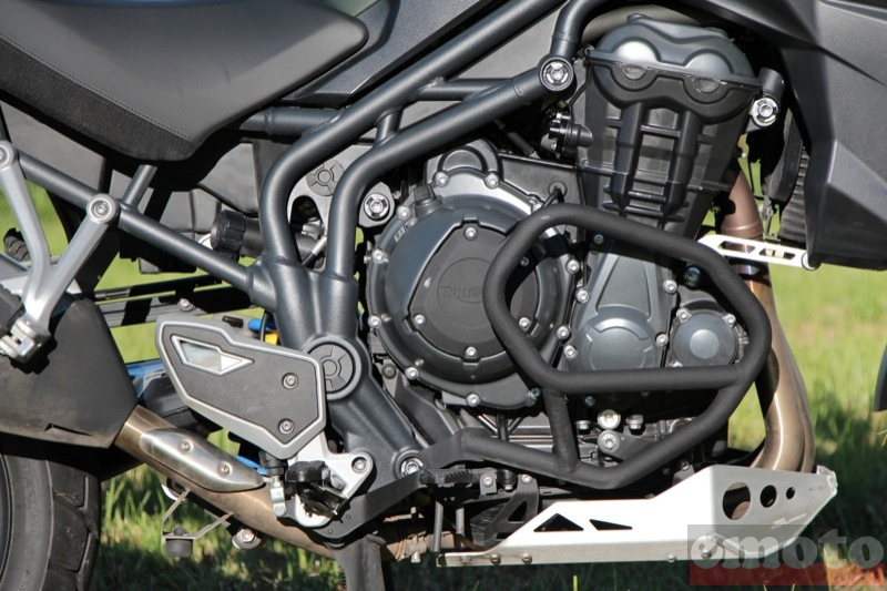 Photo de la Triumph Tiger Explorer 1200 XC modèle 2013