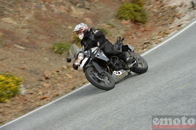 Photo de la Triumph Tiger 800 XCx modèle 2015