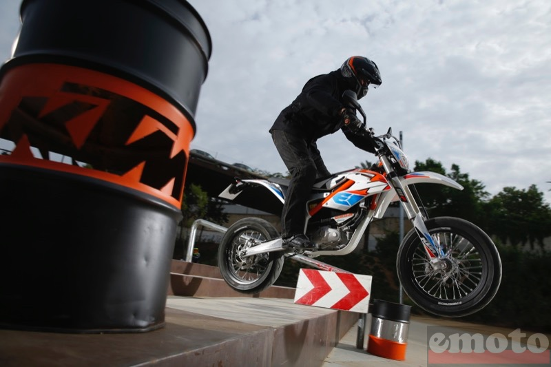 Photo de la KTM Freeride E-SM modèle 2015