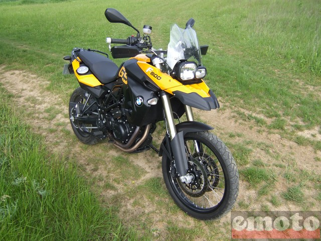 Photo de la BMW F 800 GS modèle 2008