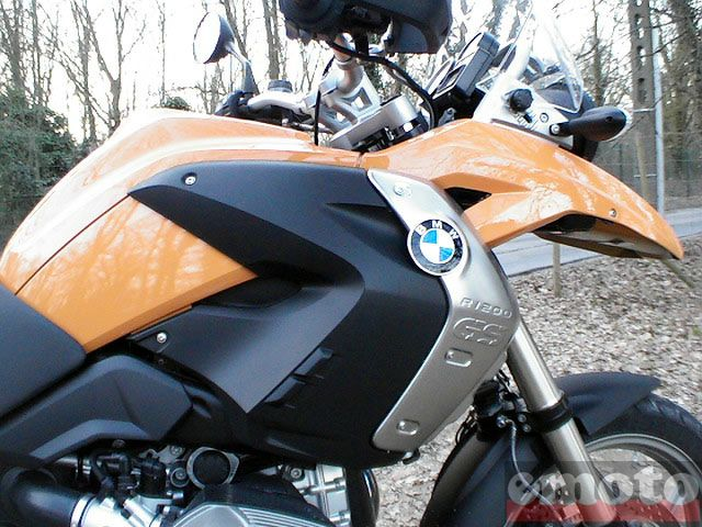 Photo de la BMW R 1200 GS modèle 2008