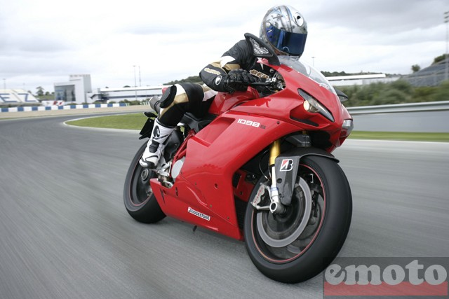Photo de la Ducati 1098 S modèle 2008