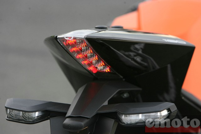 Photo de la KTM 1190 RC8 modèle 2008