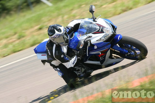 Photo de la Suzuki GSXR 600 modèle 2008