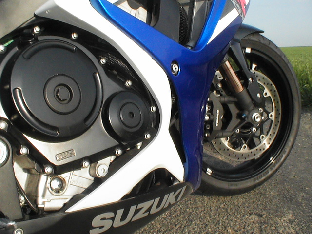 Photo de la Suzuki GSXR 750 modèle 2006