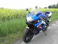 photo Suzuki GSXR 750