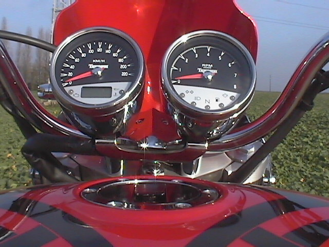 Photo de la Triumph Rocket III modèle 2005