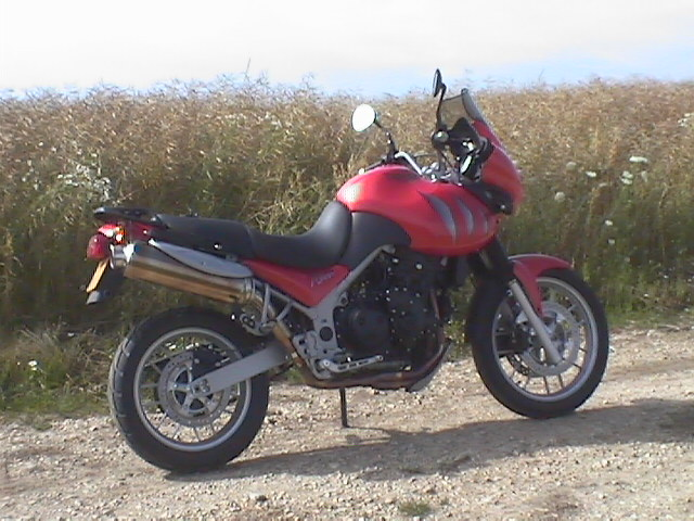 Photo de la Triumph Tiger 955 modèle 2004