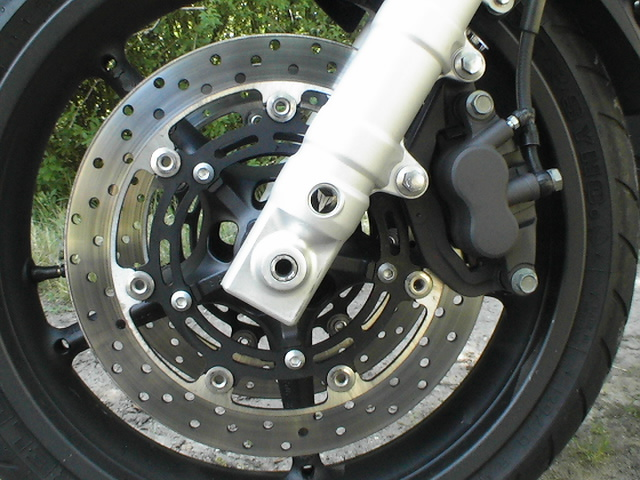 Photo de la Yamaha MT03 modèle 2006