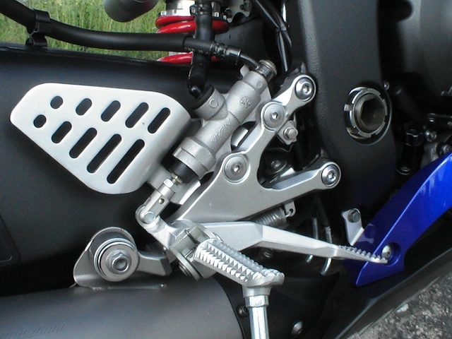 Photo de la Yamaha R6 modèle 2006