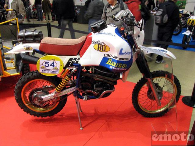 dakar du bon vieux temps - Page 3 Salon-moto-legende-2009-barigo-dakar