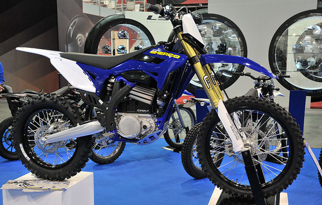 sherco evolt salon de paris
