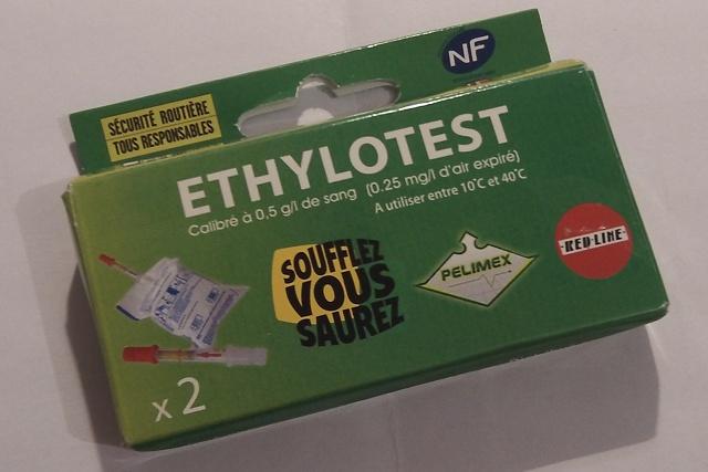 ethylotest obligatoire en 2012