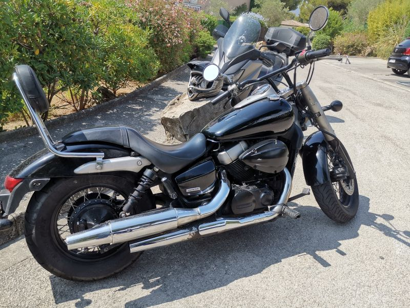 Honda Shadow 750 1/2
