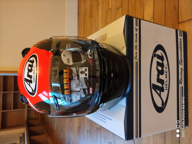 Casque Arai Rebel Splash taille L 5/6