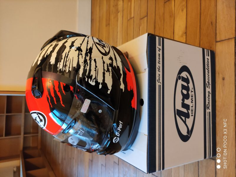 Casque Arai Rebel Splash taille L 4/6