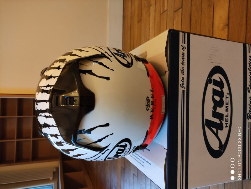 Casque Arai Rebel Splash taille L 3/6