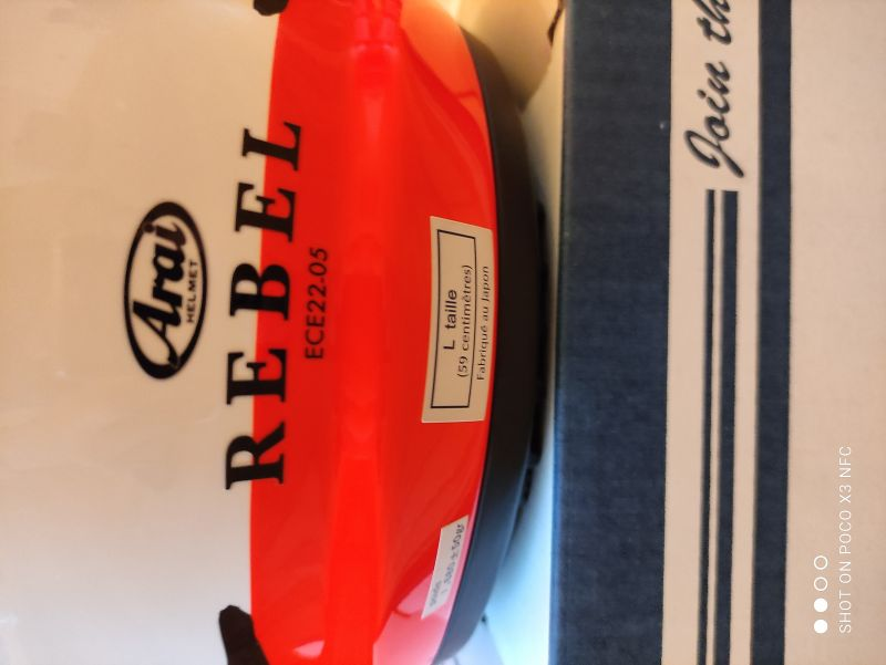 Casque Arai Rebel Splash taille L 6/6