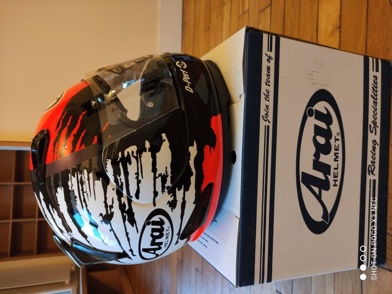 Casque Arai Rebel Splash taille L 2/6