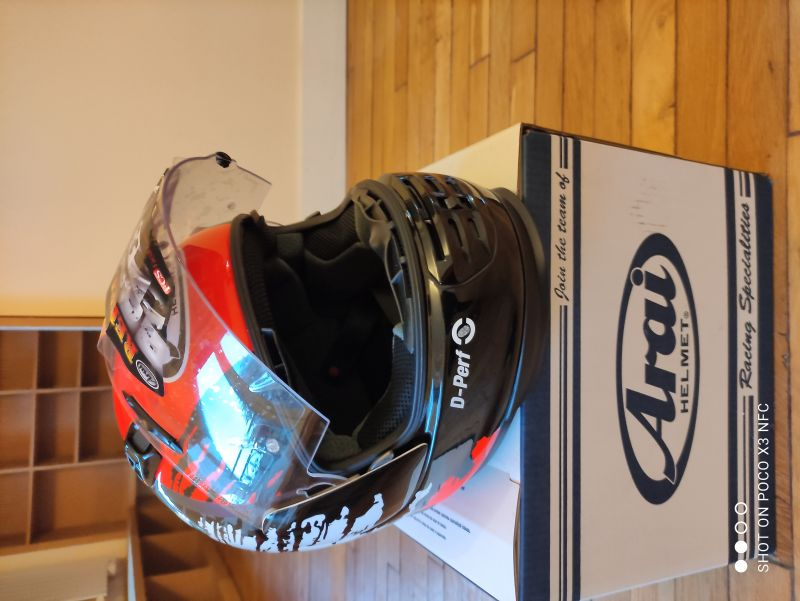 Casque Arai Rebel Splash taille L 1/6
