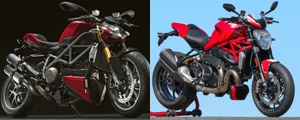 Comparatif 2 Ducati : Monster 1200 R et Streetfighter 1100 S
