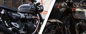 Triumph Speed Twin et Bonneville T120