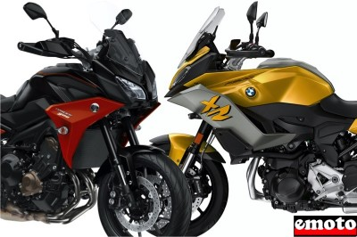 Comparatif BMW F 900 XR vs Yamaha Tracer 900