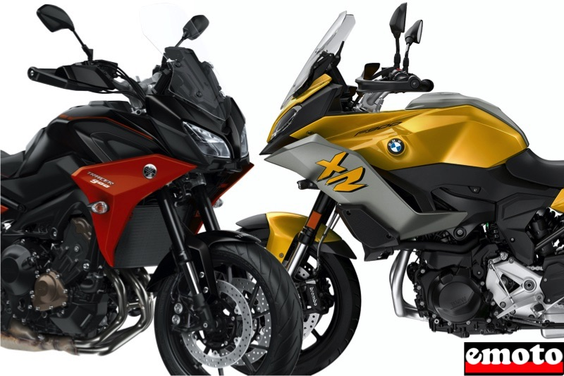 Comparatif BMW F 900 XR vs Yamaha Tracer 900 2020, yamaha tracer 900 vs bmw f 900 xr