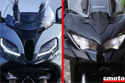 BMW S1000XR vs Kawasaki Versys 1000
