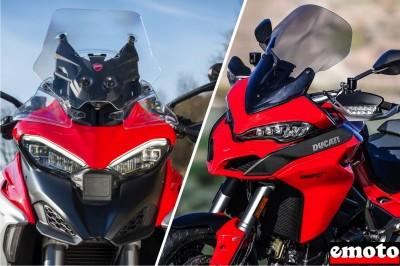 Ducati Multistrada V4 vs Multistrada 1260