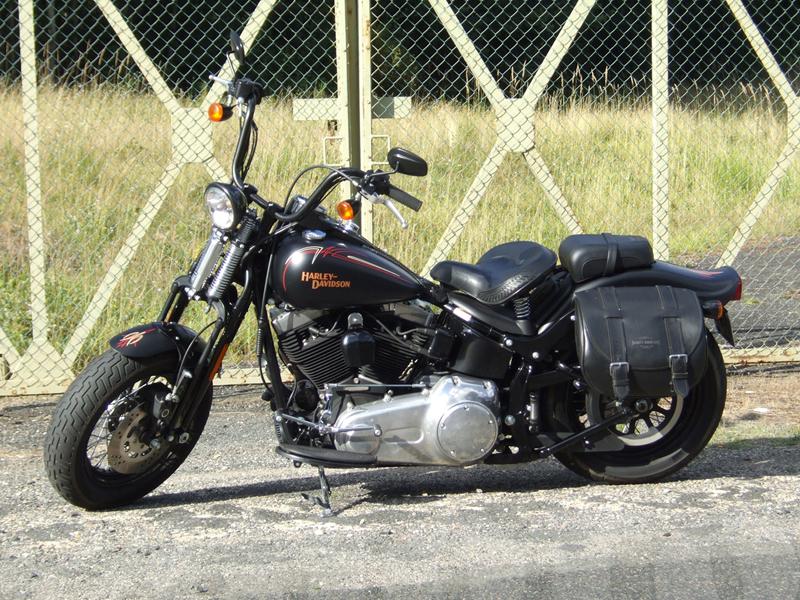 Essai Harley-Davidson Cross Bones 2008 par Jean-Michel Lainé