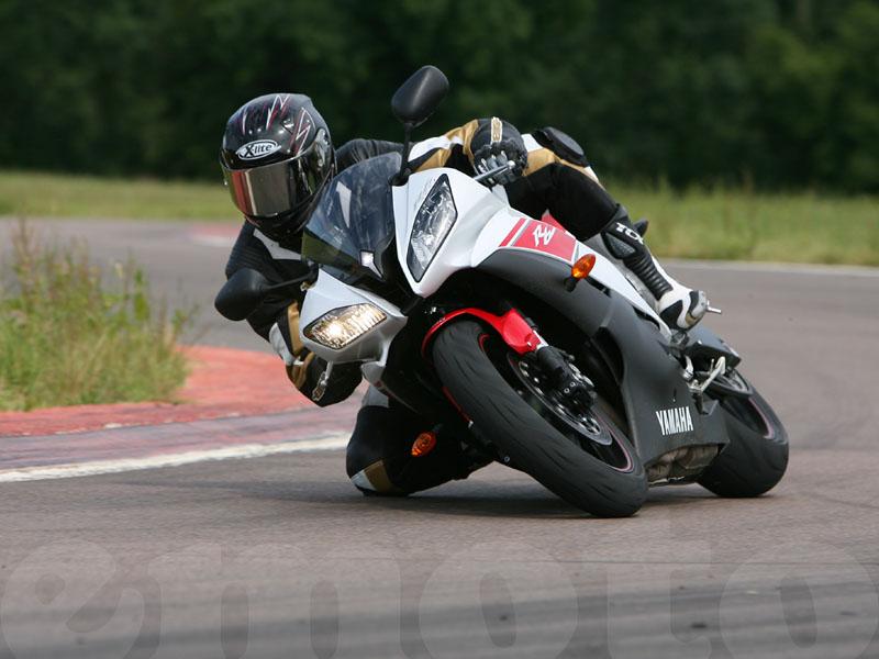 Essai Yamaha R6 2008 par Guillaume Mongin