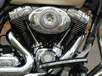 Photo 1 Essai Harley-Davidson Road King Classic 2009