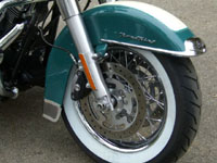 Photo 22 Essai Harley-Davidson Road King Classic 2009