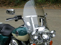 Photo 23 Essai Harley-Davidson Road King Classic 2009