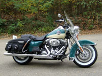 Photo 26 Essai Harley-Davidson Road King Classic 2009