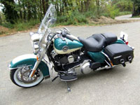 Photo 27 Essai Harley-Davidson Road King Classic 2009