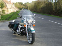 Photo 28 Essai Harley-Davidson Road King Classic 2009
