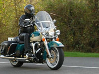 Photo 29 Essai Harley-Davidson Road King Classic 2009